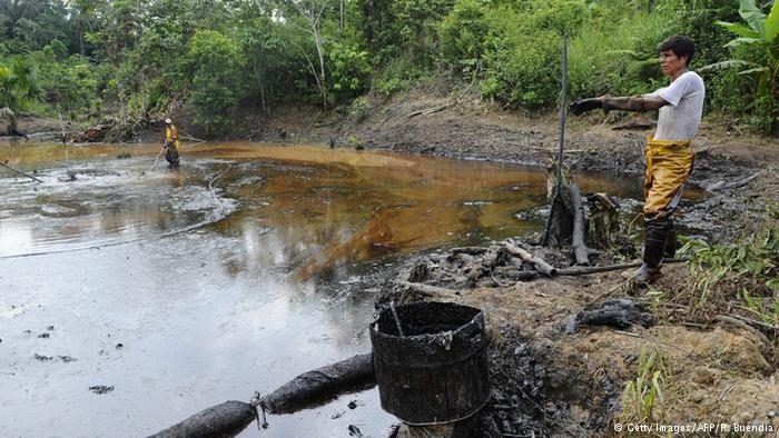 Ecuador-Oil-Polution