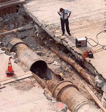 large-water-main-break