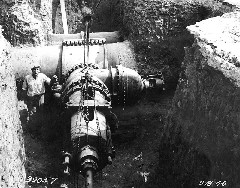Phily water main 1946