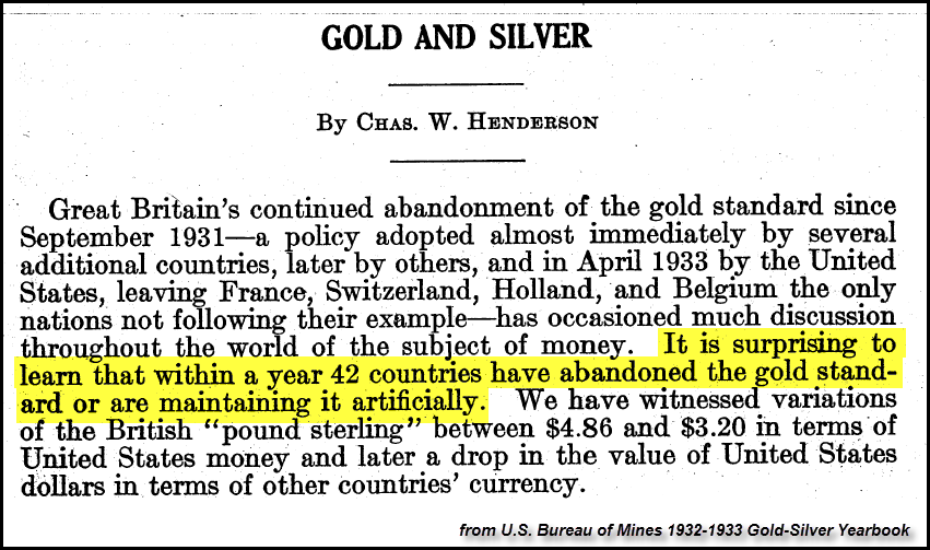 Gold and Silver | By: Chas. W. Henderson