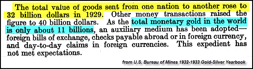 US 1732 Yearbook GDP v. Moneyary Gold