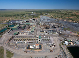 Cannington Mine, North-west Queensland, Australia