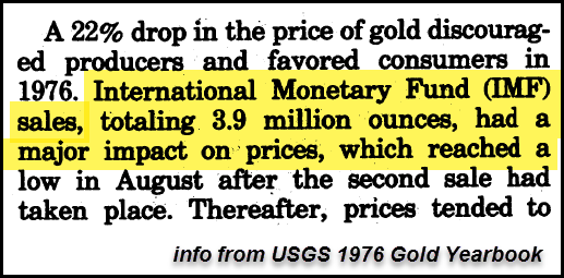 USGS 1976 Gold Yearbook Segment