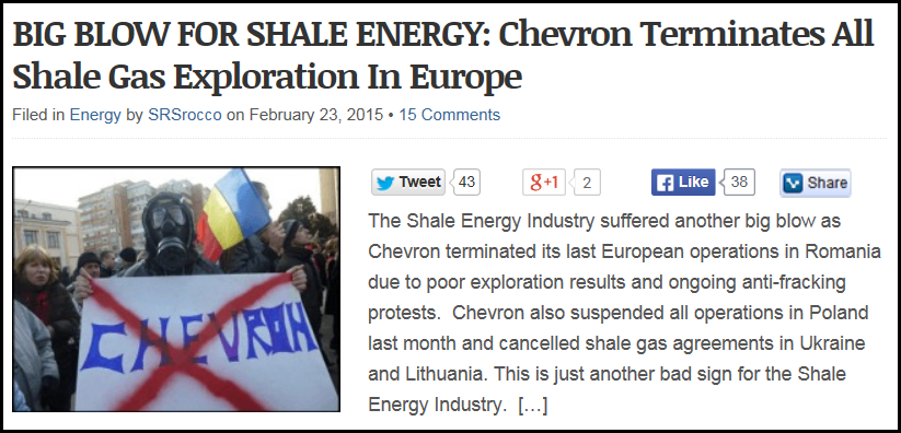 BIG BLOW FOR SHALE ENERGY IMAGE