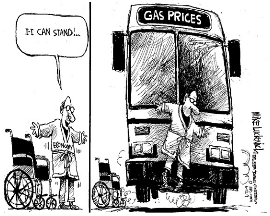 Cartoon Gas Prices