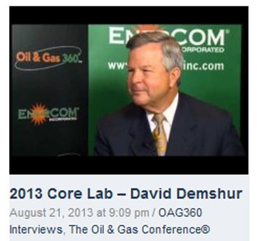 Dave Demshur EnerCom 2013