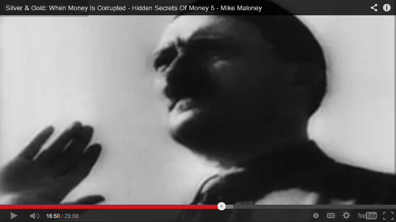 Hitler Dictator HIdden Secrets of Money