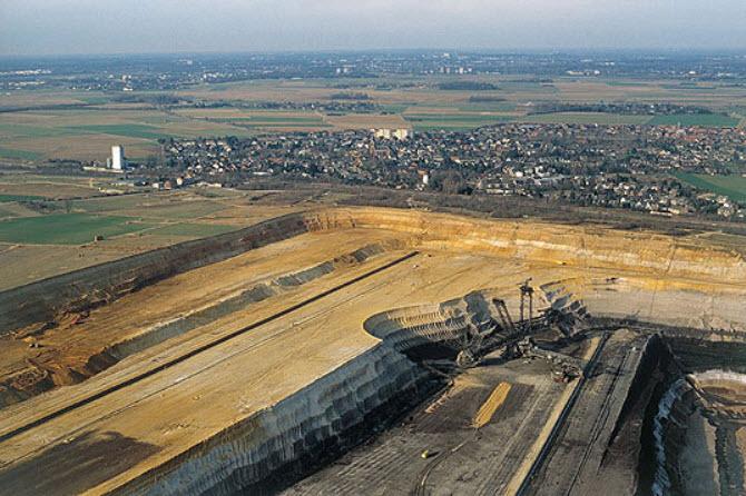 German renewables - coal mine