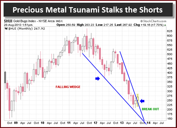 Precious Metal Tsunami